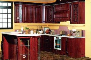 Кухня София 4 Орех - Мебельная фабрика «Кубань-мебель»
