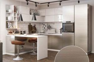 Кухня угловая Техно - Мебельная фабрика «Ренессанс»