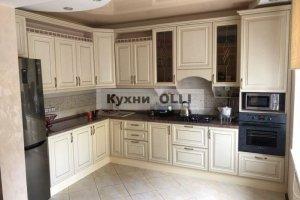 Кухня классический стиль с патиной. - Мебельная фабрика «Кухни OLLI»