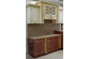 Кухонный гарнитур Карина с колоннами - Мебельная фабрика «C&K»