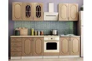 Кухонный гарнитур Люкс  1.2м  (матовая) - Мебельная фабрика «Татьяна»