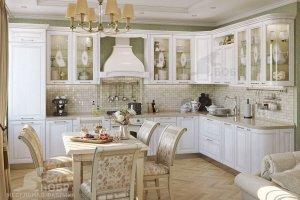 Кухонный гарнитур Мария белая - Мебельная фабрика «Бобр»