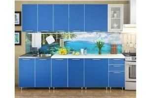 Кухонный гарнитур прямой Радуга - Мебельная фабрика «РиИКМ»