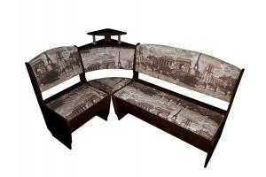 Кухонный уголок Город венге - Мебельная фабрика «ТМК (Техномебель)»