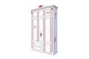 Шкаф распашной в детскую массив - Мебельная фабрика «Royal Dream»