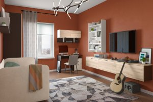 Мебель для детской Тurin - Мебельная фабрика «Дятьково»