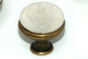 Мебельная ручка-кнопка A106-002 - Оптовый поставщик комплектующих «Каскад Фурнитура»