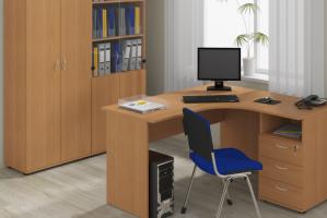 Мебельный гарнитур в офис Work - Мебельная фабрика «Lakma»
