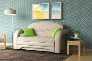 Мини диван Квинт - Мебельная фабрика «Полярис»