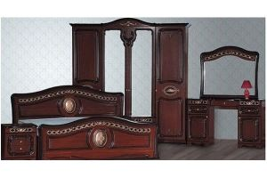 Модульная Спальня Азалия Орех - Мебельная фабрика «Кубань-Мебель»