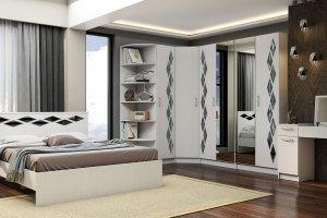 Модульная спальня Диана - Мебельная фабрика «Линаура»