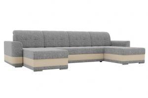 Модульный диван Честер рогожка серый - Мебельная фабрика «Мебелико»