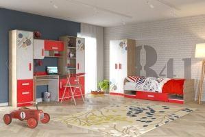 Спальня молодежная Фантазия - Мебельная фабрика «Гранд Кволити»