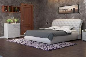 Мягкая кровать Честер - Мебельная фабрика «Полярис»