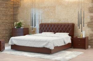 Мягкая кровать Гламур - Мебельная фабрика «Полярис»