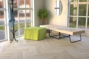 Мягкая кровать Квадро раскладушка - Мебельная фабрика «Полярис»