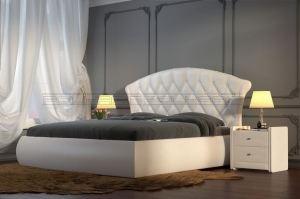 Мягкая кровать Лиза - Мебельная фабрика «Полярис»