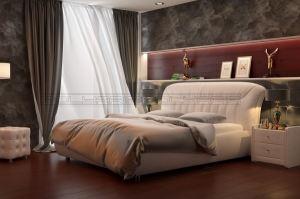 Мягкая кровать Миледи - Мебельная фабрика «Полярис»