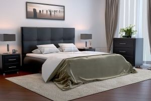 Мягкая кровать Токио - Мебельная фабрика «Полярис»