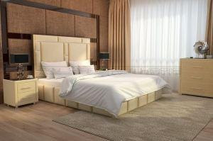 Мягкая кровать Валенсия - Мебельная фабрика «Полярис»