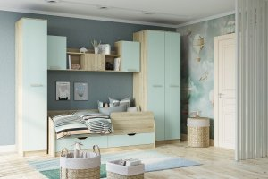 Набор детской Акварель - Мебельная фабрика «Сильва»