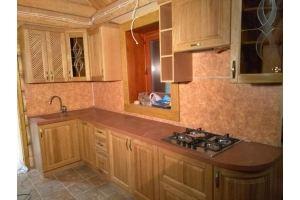 Небольшая угловая кухня - Мебельная фабрика «Аледо»