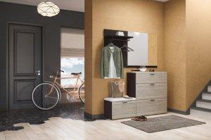 Небольшая прихожая с зеркалом Parma - Мебельная фабрика «Дятьково»