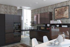 Неповторимая угловая кухня Браво - Мебельная фабрика «Анонс»