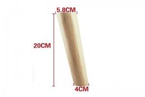 Ножка (опора) деревянная мебельная Конус - Оптовый поставщик комплектующих «Мебельный ЦЕХ»