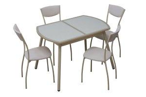 обеденная группа стол  Люкс и стул Куба - Мебельная фабрика «Milio»