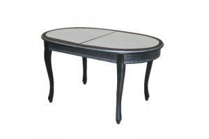 Обеденный стол Ларго 2 с камнем - Мебельная фабрика «Квинта-Мебель»