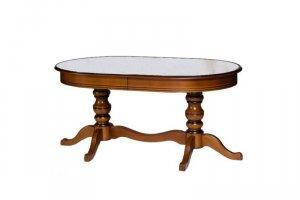 обеденный стол  Пассаж 1700 с камнем - Мебельная фабрика «Квинта-Мебель»