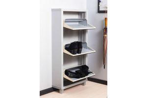 Обувной шкаф 3-х секционный Люкс - Мебельная фабрика «АЙРОННОРИ»