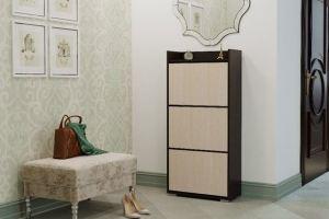 Обувница большая венге/белфорд - Мебельная фабрика «CASE»