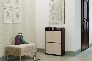 Обувница малая венге/белфорд - Мебельная фабрика «CASE»