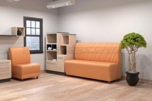 Офисный диван Беллисимо и Вега новая - Мебельная фабрика «Полярис»