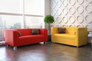 Офисный диван Рио и Поло - Мебельная фабрика «Полярис»