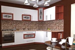 Оригинальная кухня 36 - Мебельная фабрика «Алекс-Мебель»