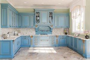 П-образная кухня Diamante - Мебельная фабрика «ViVakitchen»