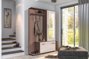 Прихожая с зеркалом Аврора - Мебельная фабрика «Олимп»
