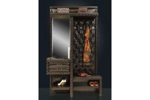 Прихожая Благо Б1 коричневая - Мебельная фабрика «Благо»