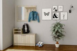 Прихожая Дженни 1 дуб сонома - Мебельная фабрика «CASE»