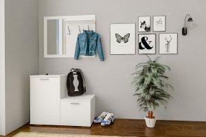 Прихожая Дженни 2 белый - Мебельная фабрика «CASE»