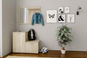 Прихожая Дженни 2 дуб сонома - Мебельная фабрика «CASE»