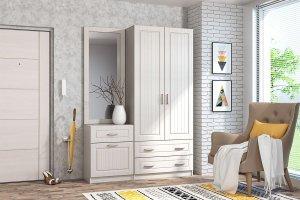 Прихожая Иннэс 6 МДФ вариант 5 - Мебельная фабрика «ДИАЛ»