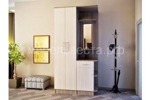 Прихожая ЛДСП 1,1м, Ясень шимо - Мебельная фабрика «Веста»