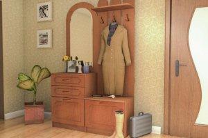 Прихожая Малютка 2 М.Д.Ф. - Мебельная фабрика «Д.А.Р. Мебель»