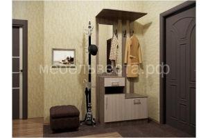 Прихожая с тумбой и вешалкой 0,9м - Мебельная фабрика «Веста»