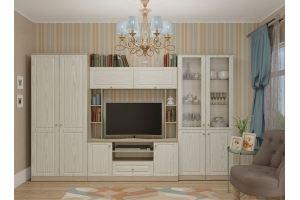 Модульная гостиная ЛАУРА и Шкаф ЛАУРА 2-х створчатый - Мебельная фабрика «Гайвамебель»