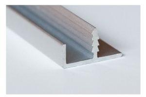 Фасадный рамочный врезной профиль 2222 - Оптовый поставщик комплектующих «Хит-Профиль»